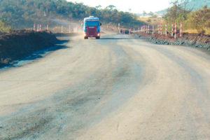 Aplicação na Vale - Mina do Pico - MG